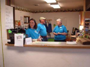 Friendly Volunteer Staff ready to help!