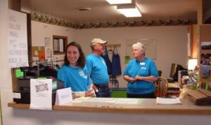 Friendly Volunteer Staff ready to help!